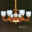 Đèn Chùm Châu Âu UCN375-6 Ø650