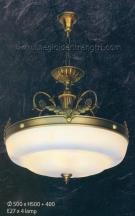 Đèn Thả Đồng NLNB1933B Ø500