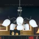 Đèn Chùm Inox NLNC887-6 Ø700