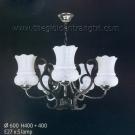 Đèn Chùm Inox NLNC9922-5 Ø600