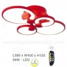 Đèn Áp Trần LED EU-ML8477 580x400