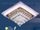 Đèn Ốp Trần Pha Lê LED SN2120 600x600