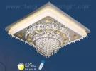 Đèn Ốp Trần Pha Lê LED SN2122 600x600