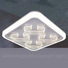 Đèn Trang Trí Ốp Trần LED SN2136 500x500