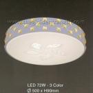 Đèn Ốp Trần LED Hàn Quốc Đổi Màu ERA364 Ø500