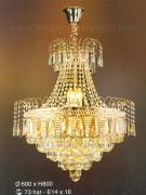 Đèn Chùm Pha Lê EU-CFLA99 Ø600