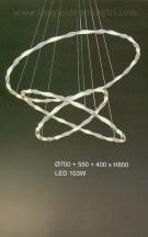 Đèn Thả LED Nghệ Thuật UTL5126 Ø700