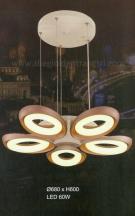 Đèn Thả LED Nghệ Thuật UTL8626-5CF Ø680