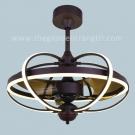 Đèn Quạt Trần LED AU-QT7005 Ø600