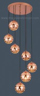 Đèn Thả LED Thông Tầng SN2202 Ø360xH1600