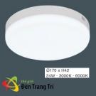 Đèn LED Gắn Nổi 24W EU-MSS694 Ø170