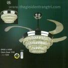 Đèn Quạt Cánh Xếp UDQ8049 Ø1100
