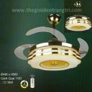 Đèn Quạt Cánh Xếp UDQ8075 Ø1100