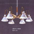 Đèn Chùm Nghệ Thuật UTNT216-6T Ø810
