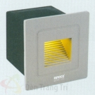 Đèn Âm Cầu Thang LED 3W EU-AT17 58x58