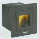 Đèn Âm Cầu Thang LED 3W EU-AT18 58x58