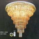 Đèn Mâm Pha Lê LED UMLF2949 Ø800