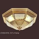 Đèn Áp Trần Đồng NLNM002B Ø450