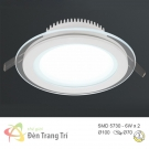 Đèn LED Âm Trần 3 Màu 6W EU-LA301 Ø70