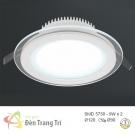 Đèn LED Âm Trần 3 Màu 9W EU-LA302 Ø90