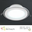 Đèn LED Âm Trần 3 Màu 12W EU-LA303 Ø120