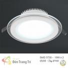 Đèn LED Âm Trần 3 Màu 18W EU-LA304 Ø160
