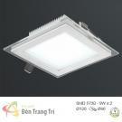 Đèn LED Âm Trần 3 Màu 9W EU-LA306 90x90