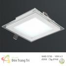 Đèn LED Âm Trần 3 Màu 18W EU-LA308 160x160