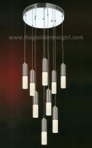 Đèn Thả LED UTL8812-INOX Ø400