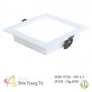 Đèn LED Âm Trần 3 Màu 8W EU-LA314 90x90