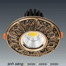 Đèn Downlight 12W AFC LED Puly 01 Ø70