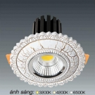 Đèn Downlight 12W AFC LED Puly 04 Ø70