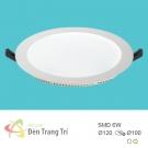 Đèn LED Âm Trần 6W EU-LA402 Ø100