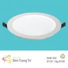 Đèn LED Âm Trần 3 Màu 6W EU-LA421 Ø100