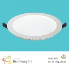 Đèn LED Âm Trần 3 Màu 9W EU-LA422 Ø130