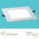 Đèn LED Âm Trần 6W EU-LA412 100x100