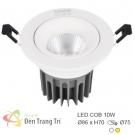 Đèn LED 10W Âm Trần Chiếu Góc EU-LA494 Ø75