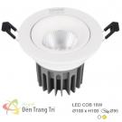 Đèn LED 18W Âm Trần Chiếu Góc EU-LA495 Ø95