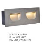 Đèn Âm Tường Cầu Thang LED 6W EU-AT28