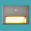 Đèn Âm Tường LED Cảm Biến 2W EU-AT40