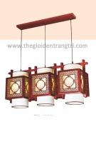 Đèn Thả Gỗ Nghệ Thuật ERA-TG178-3