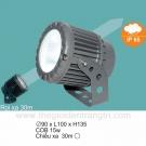 Đèn LED 15W Đổi Màu Rọi Xa 30m SN7307
