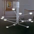 Đèn Chùm LED Nghệ Thuật KDY100 Ø750