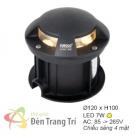 Đèn Âm Sàn LED 7W EU-AS13 Ø120