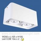 Đèn Lon LED 24W Gắn Nổi SN2316 105x200
