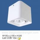 Đèn Lon LED 12W Gắn Nổi SN2317 105x105