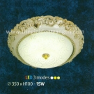 Đèn Ốp Trần Led Đổi Màu NLNM905 Ø350