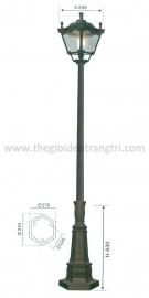 Đèn Trụ Sân Vườn TRỤ 062 Ø235xH2900