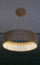 Đèn Thả Led Nghệ Thuật KDY104 Ø500