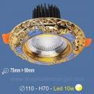 Đèn LED 10W Âm Trần Cổ Điển SN2326 Ø75